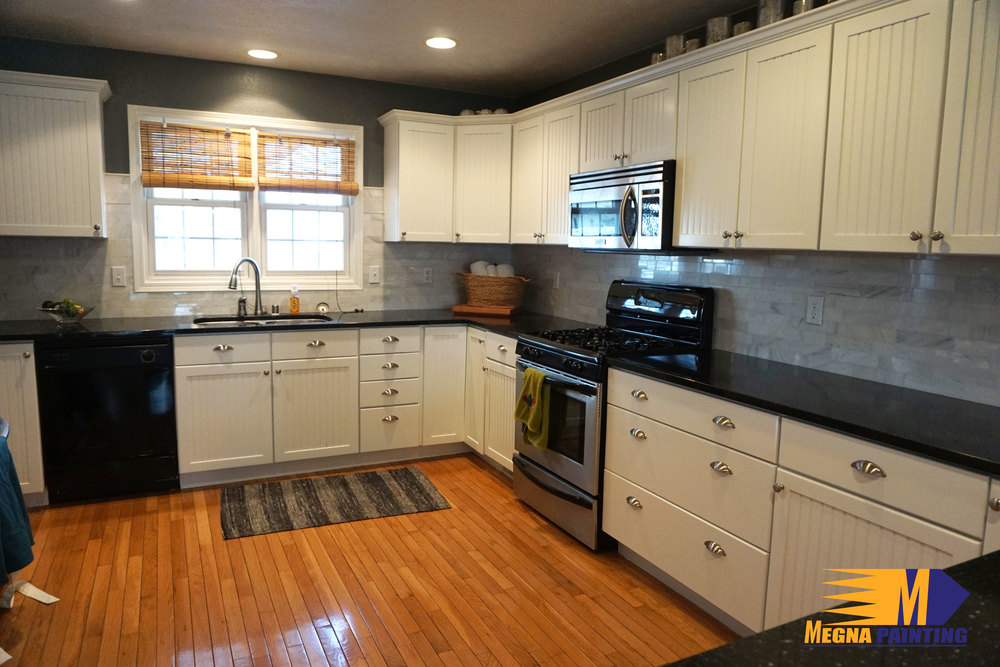 Kitchen Cabinet Update In Milton Wi Painters Madison Wi Megna