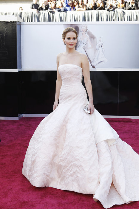Jennifer Lawrence,Beautiful Dior gown, but not too sure she's the best for it. Still a top pick.