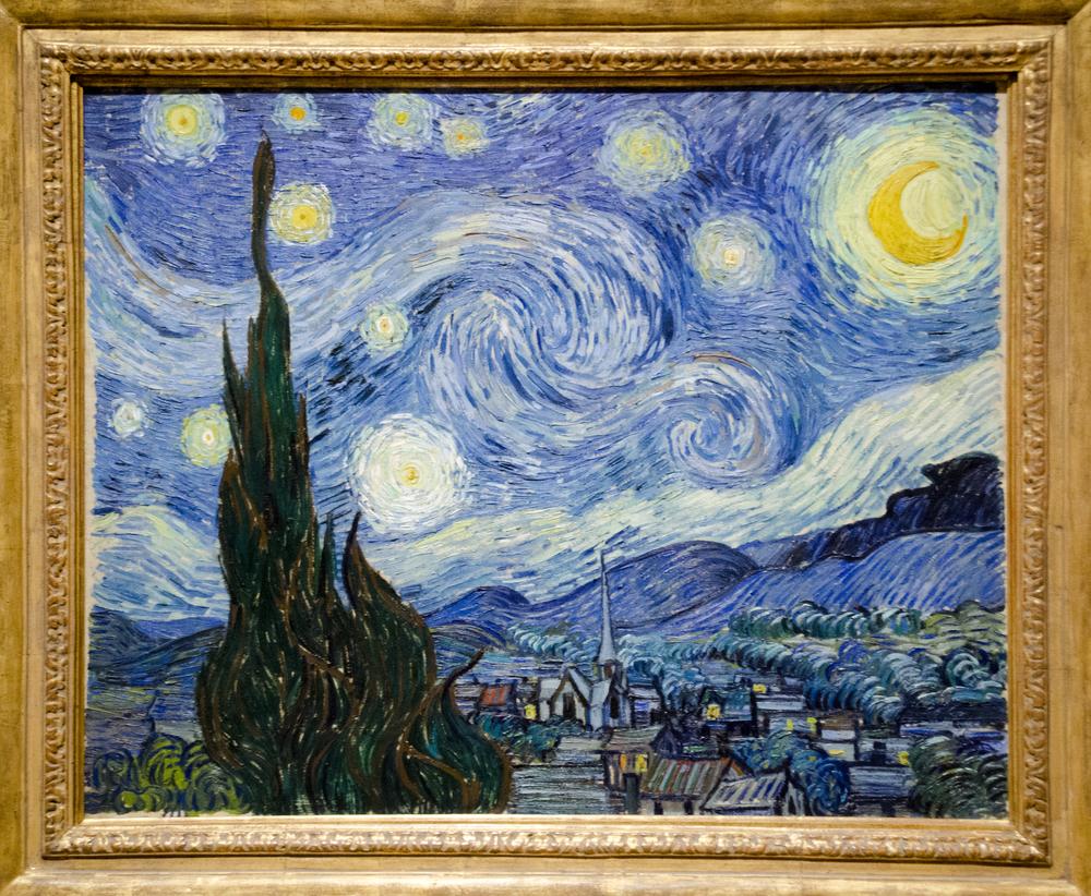 Van Gogh's Starry Night at MOMA