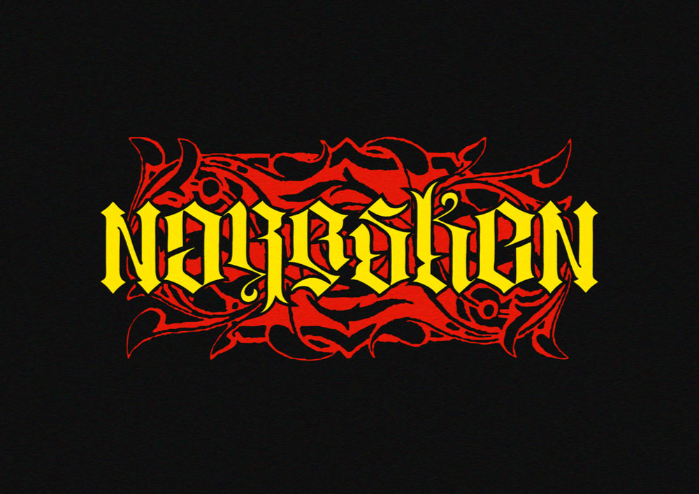 Norrsken Choppers ambigram, 2012