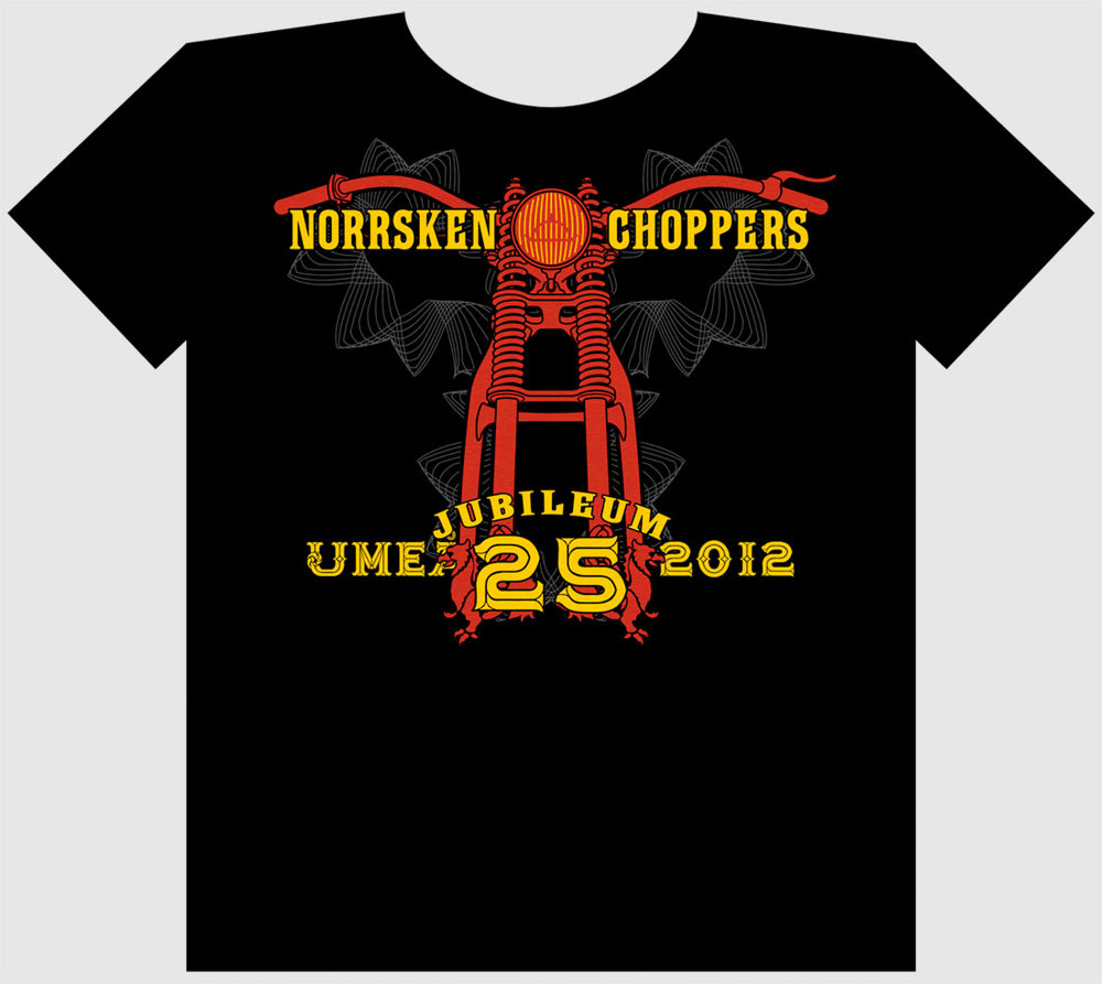 Norrsken Choppers t-shirt, 2012