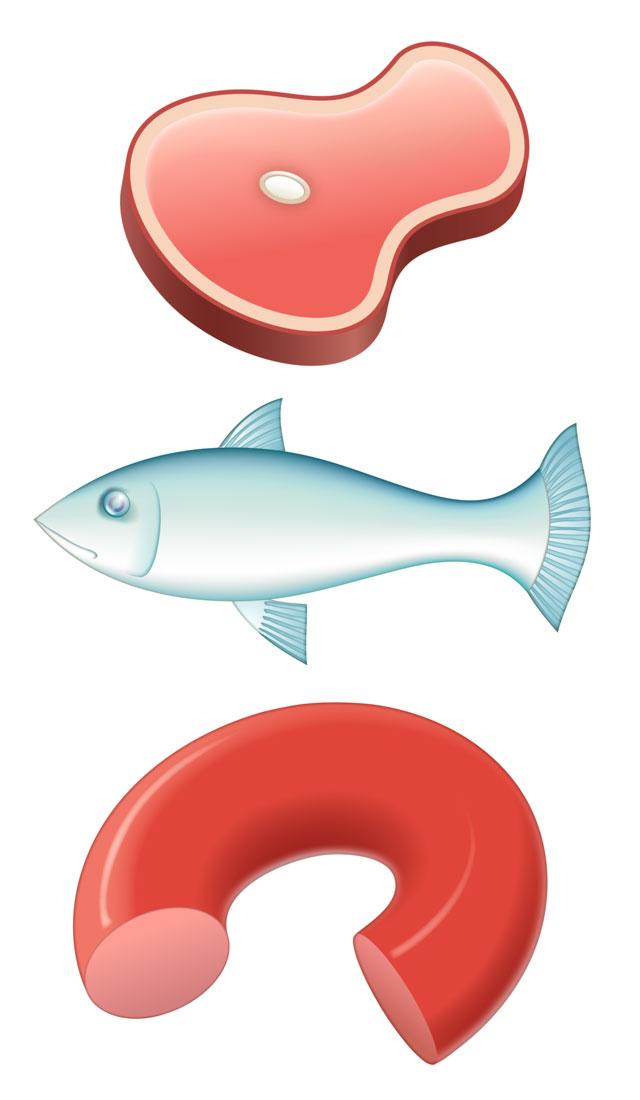 Skinka, fisk, korv, 2008