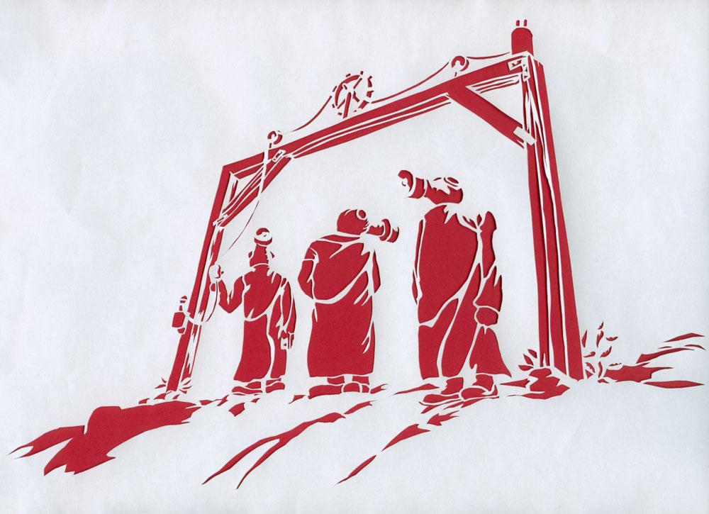 Kufar besöker Österhden