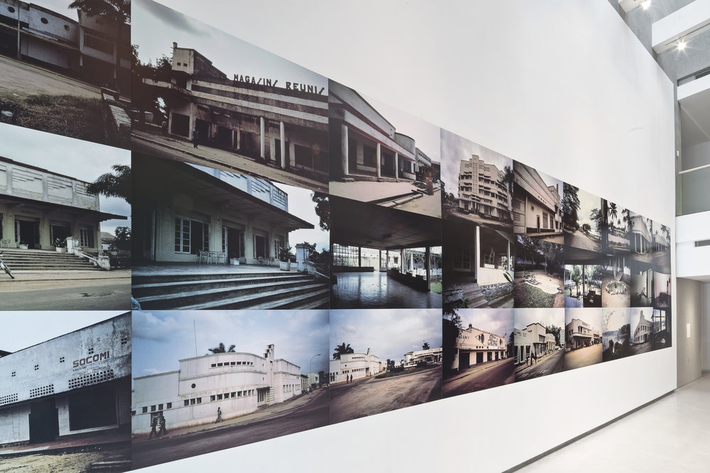 1983 Kisangani Zaire, 2015  A photographic wall installation of 27 photographs taken in 1983 in Kisangani, Zaire now the Democratic Republic of Congo.  10 ' high x 40 ' length  Commissioned by the Power Plant, Toronto, Canada for the exhibition : The Unfinished Conversation: Encoding / Decoding.  Curated by Gaetane Verna and Mark Sealy. With Terry Adkins, John Akomfrah, Sven Augustijnen, Shelagh Keeley, Steve McQueen and Zineb Sedira.  24 January - 18 May 2015