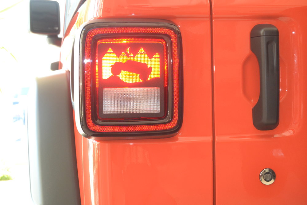 NEW - 2018 PRESENT  JL  WRANGLER TERRAIN TAILLIGHT GUARD. SEE PLACE YOUR ORDER PAGE FOR ADDITIONAL DETAILS.