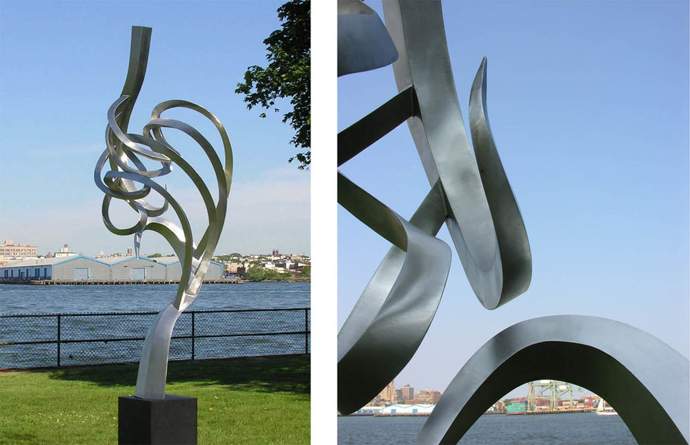 David Morris, Artist  Journey Stainless steel