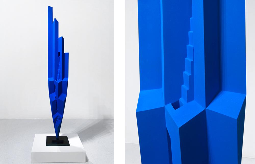 David Morris, Artist  Blue City