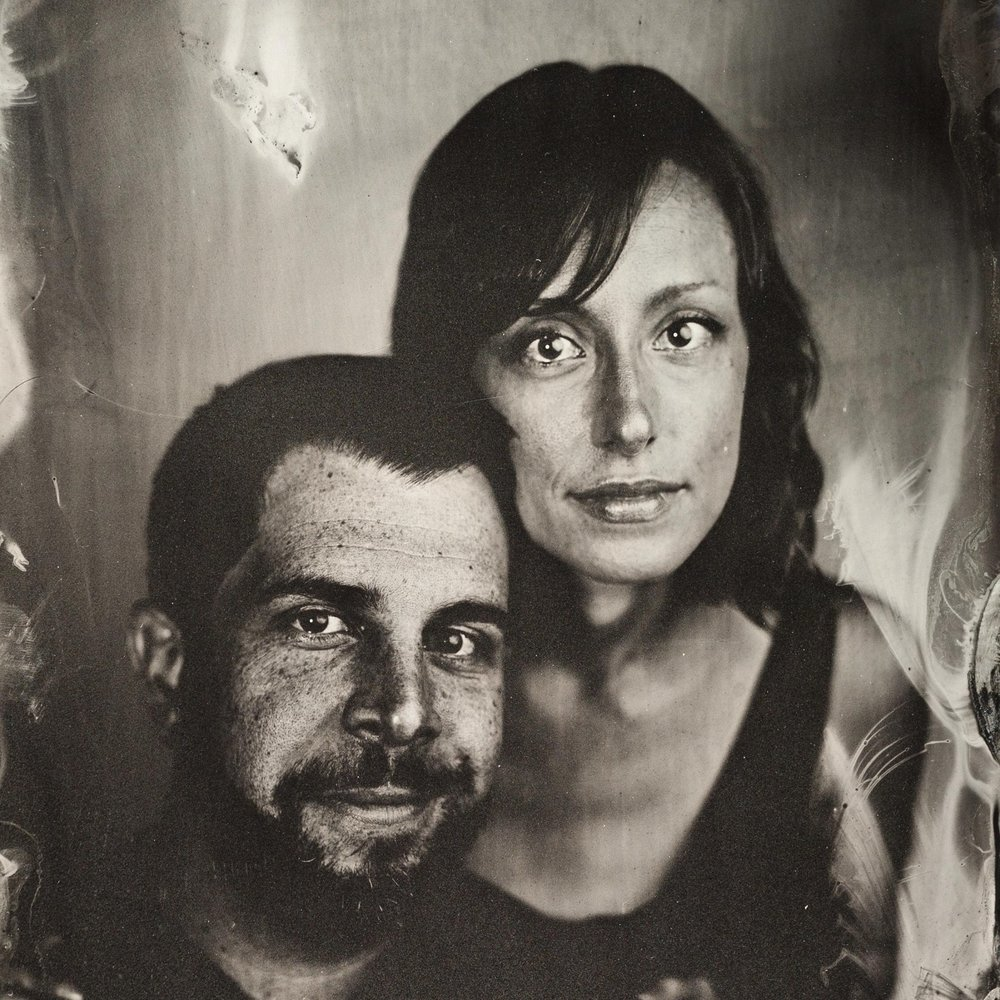 Tintype by Kevin Zamani (whose Large Format camera we used for this video)