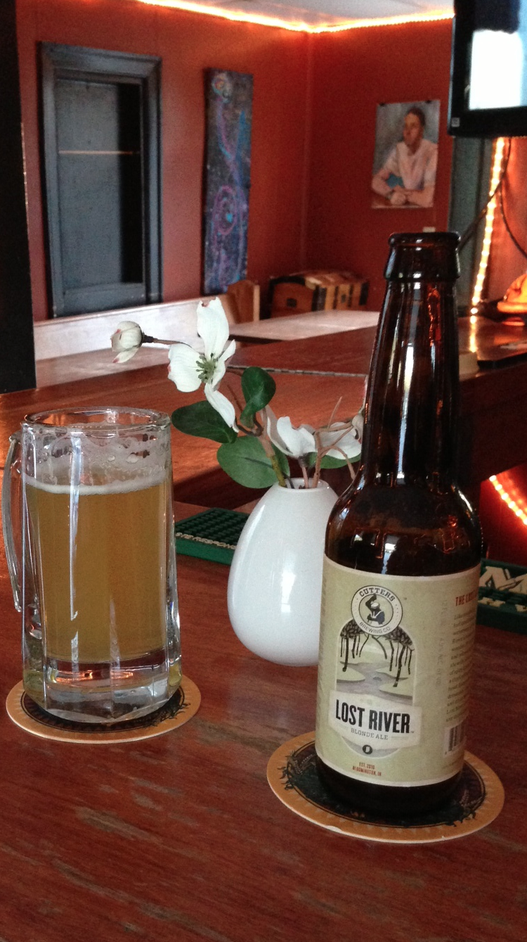 Lost River Blonde Ale from Cutter's Brewing Co.