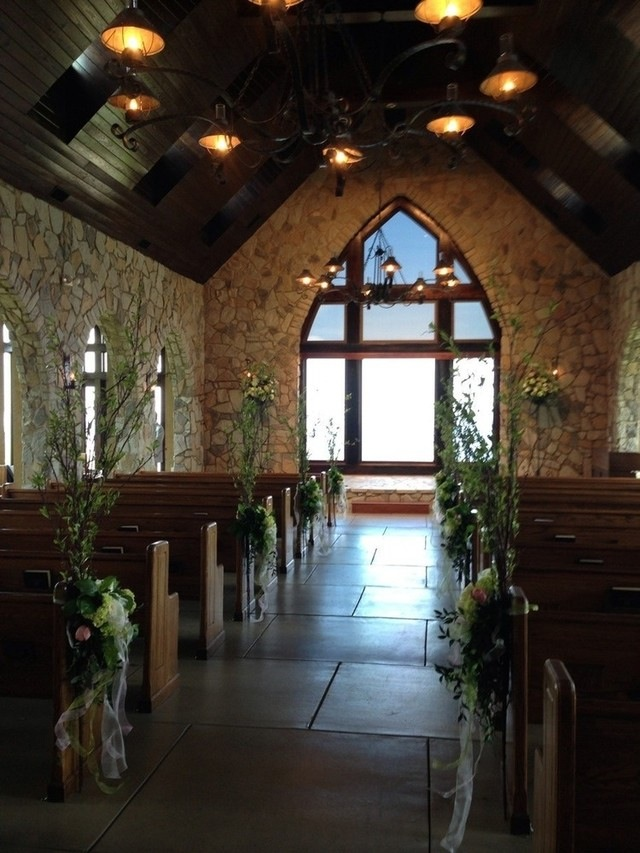 The breathtaking Glassy Chapel where the ceremony took place