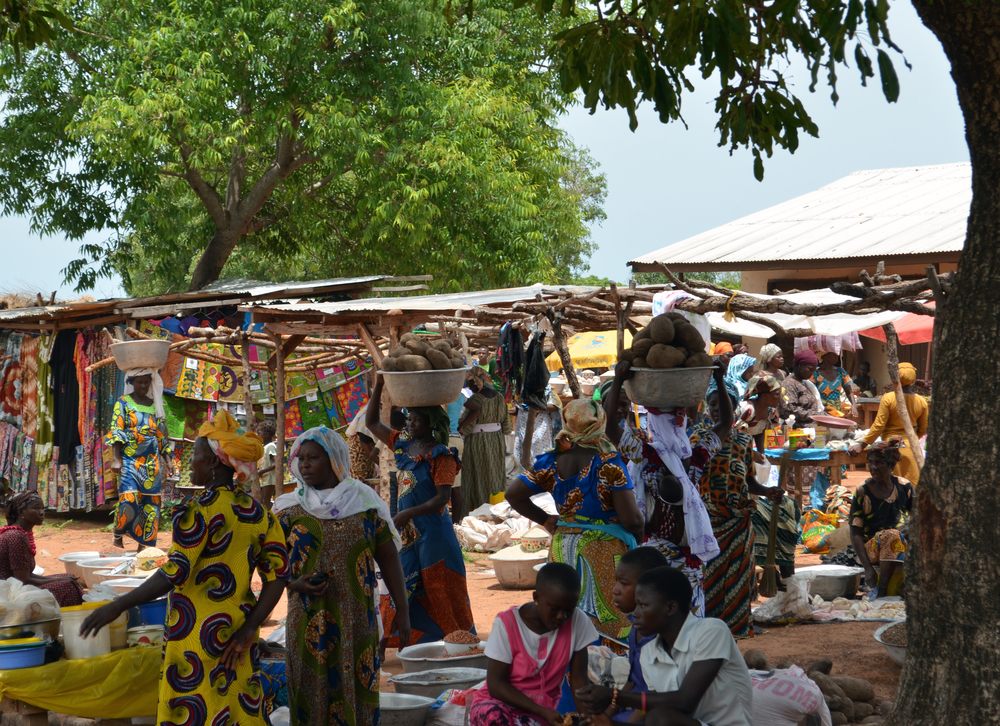 Market in Ghana / S Eligh