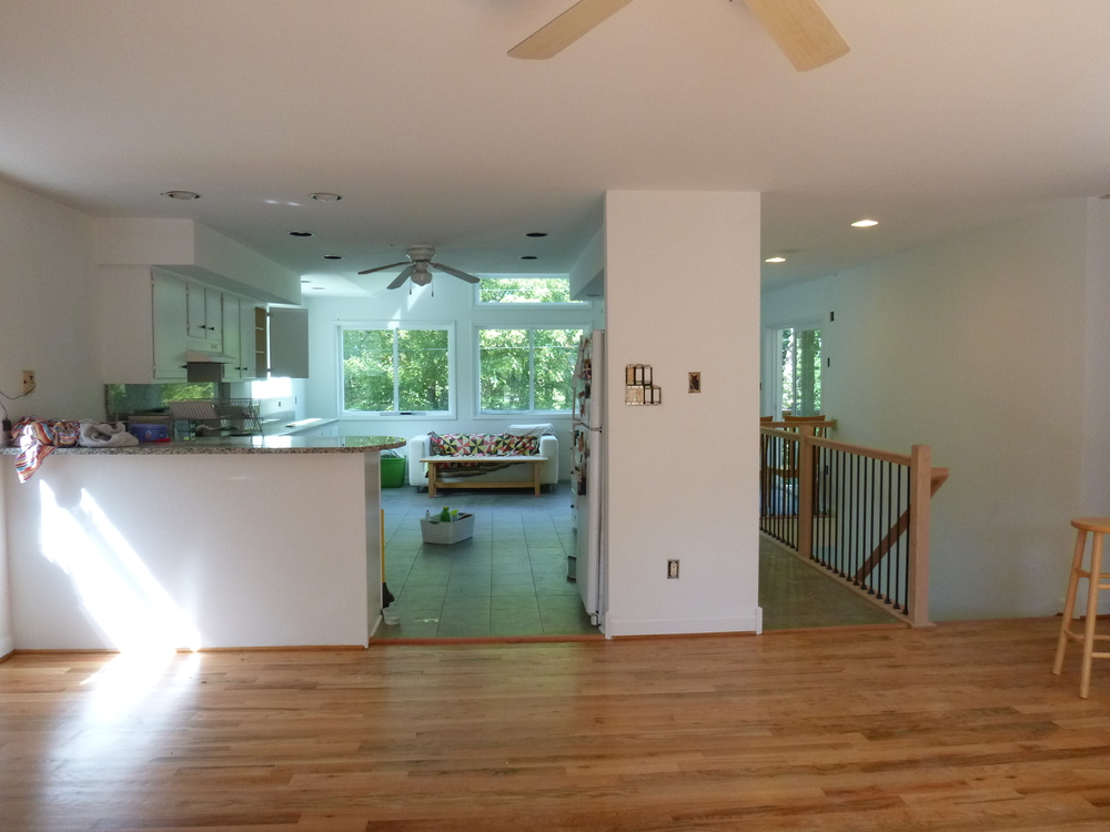Unsplitting A Split Foyer In Shepherdstown Fine Line