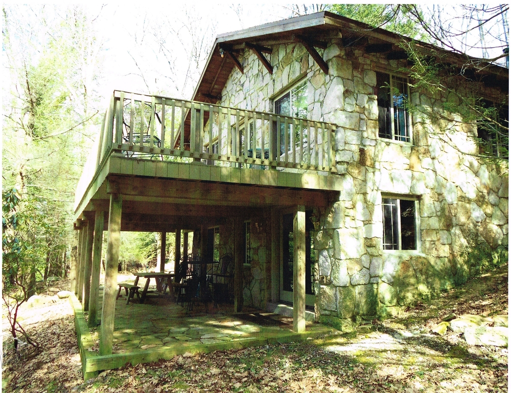 Lakefront addition to 1930 39 s stone cottage fine line for Cottage additions