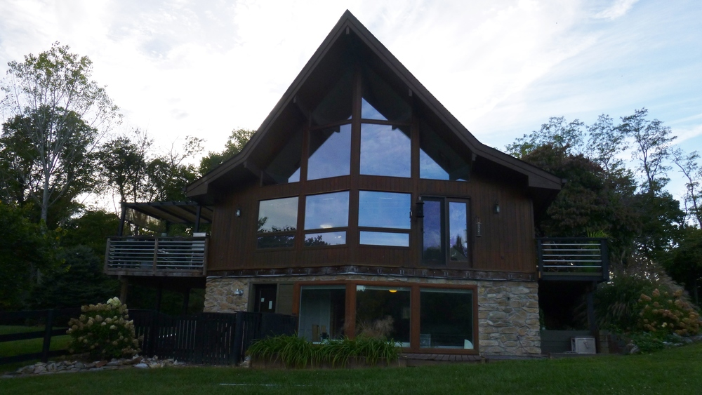 Contemporary additions to post and beam prow home fine for Contemporary post and beam house plans