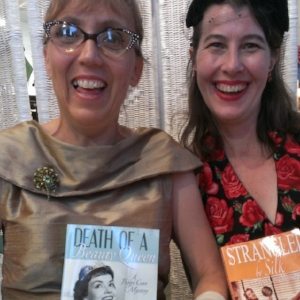 The authors, Andrea Taylor and Heather Shkuratoff, who make up Barbara Jean Coast
