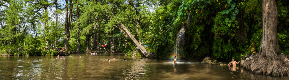 Fun at Krause Springs in Spicewood, TX.  Click on the images to see them larger.