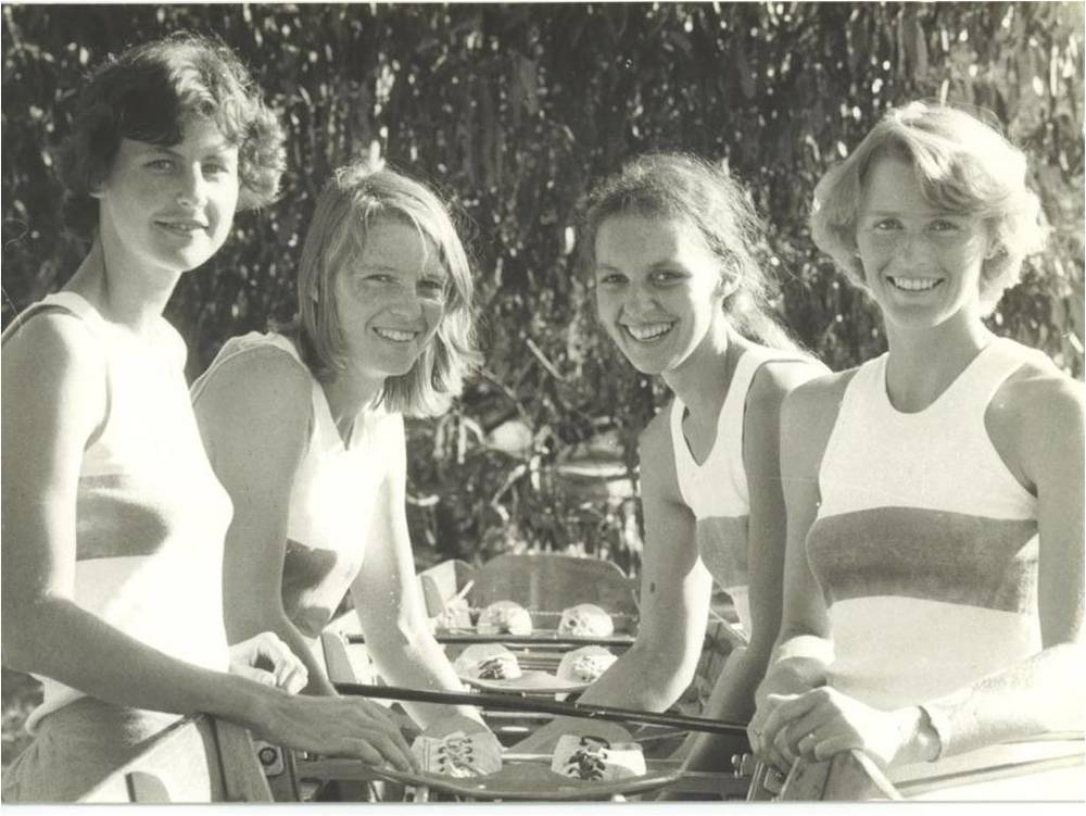 1979: ANU women's light four at the National Championships