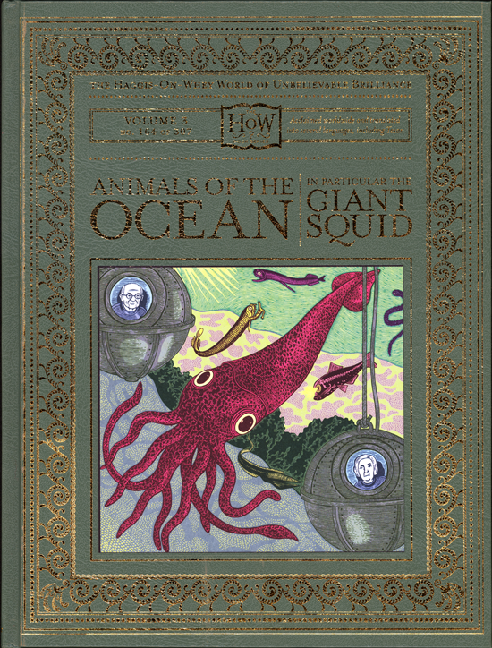 Cover  Animals of the Ocean, in Particular the Giant Squid , 2006