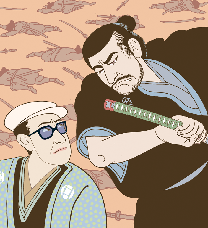 Kurosawa & Mifune  The New Yorker , 2002