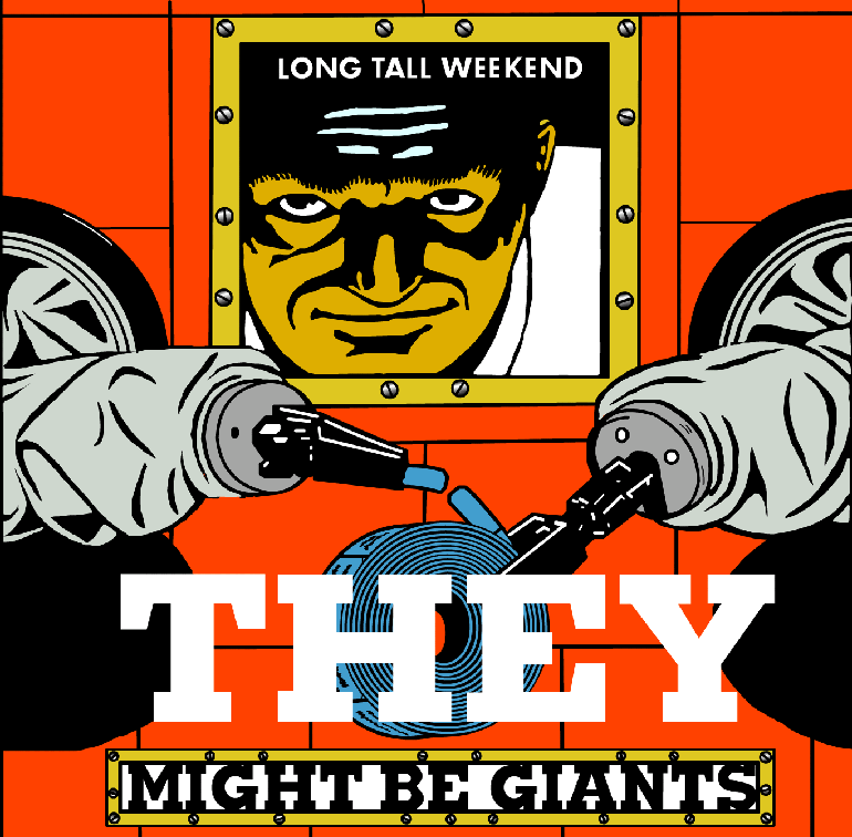 "Cover: ""Long Tall Weekend,"" a downloadable CD by They Might Be Giants, 1999"