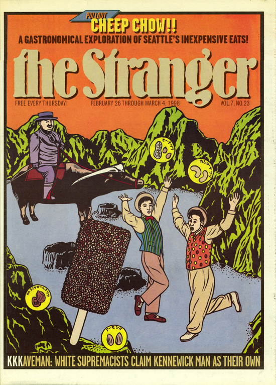 Cover  The Seattle Stranger , 1998
