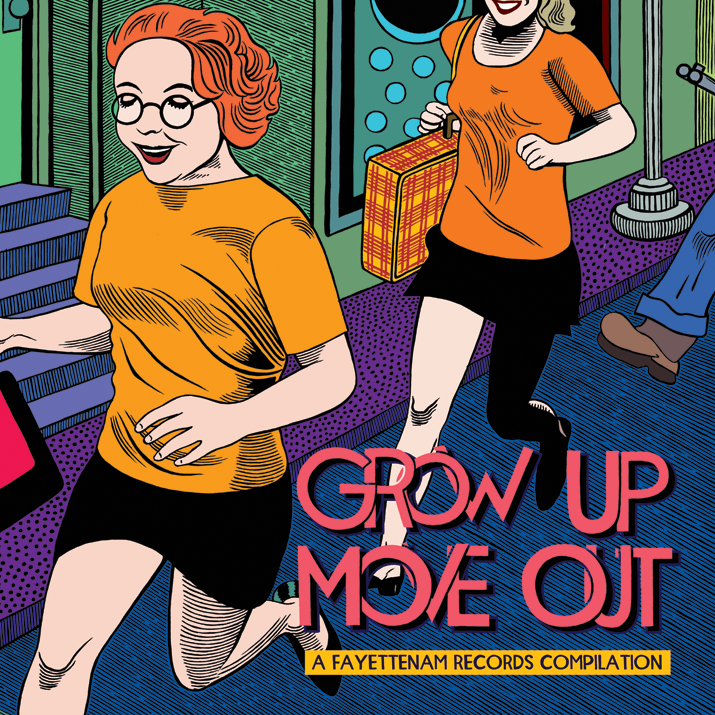 """Grow Up, Move Out"" Digital Compilation, Fayettenam Records, 2010"