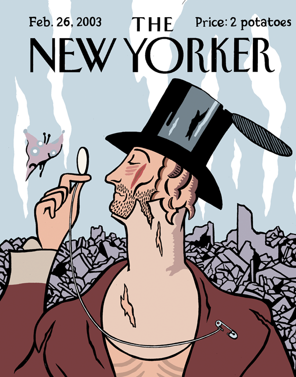 The New Yorker after the collapse  Nerve , 2001