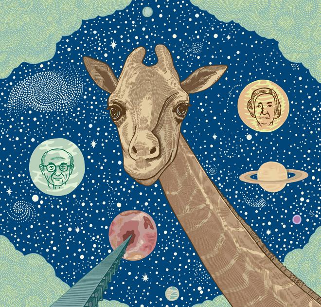 """Cover """"Giraffes? Giraffes!""""  2004"""