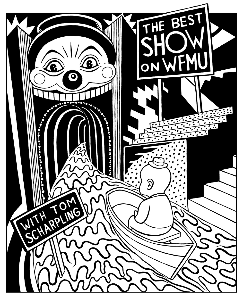 The Best Show on WFMU T-shirt, 2009