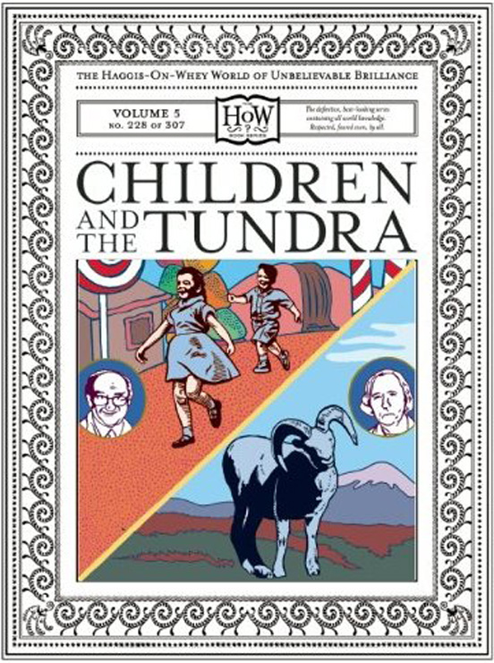 Cover   Children & the Tundra  (unpublished)