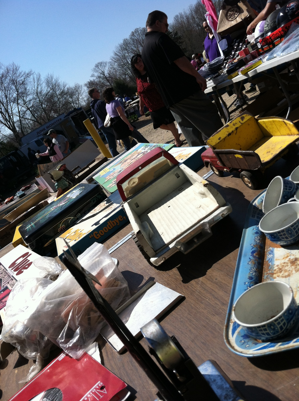 Do you like flea markets? There is a massive local one on sunday mornings that will blow your mind.