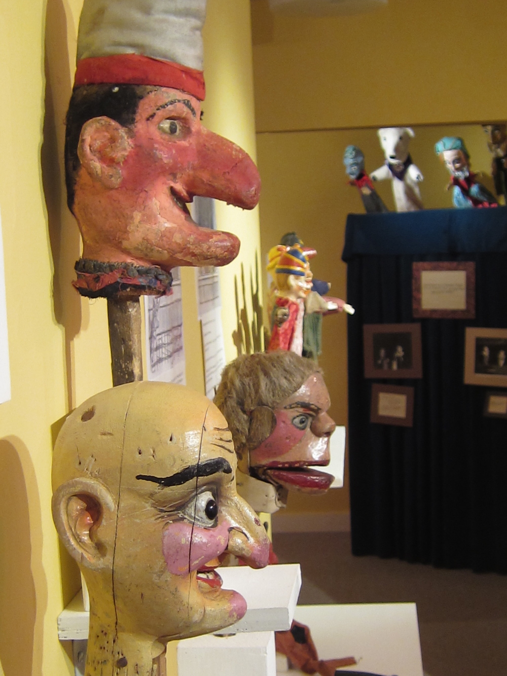 More puppets. The Ballard Puppetry Museum was founded by legendary puppetry teacher Bill Ballard.
