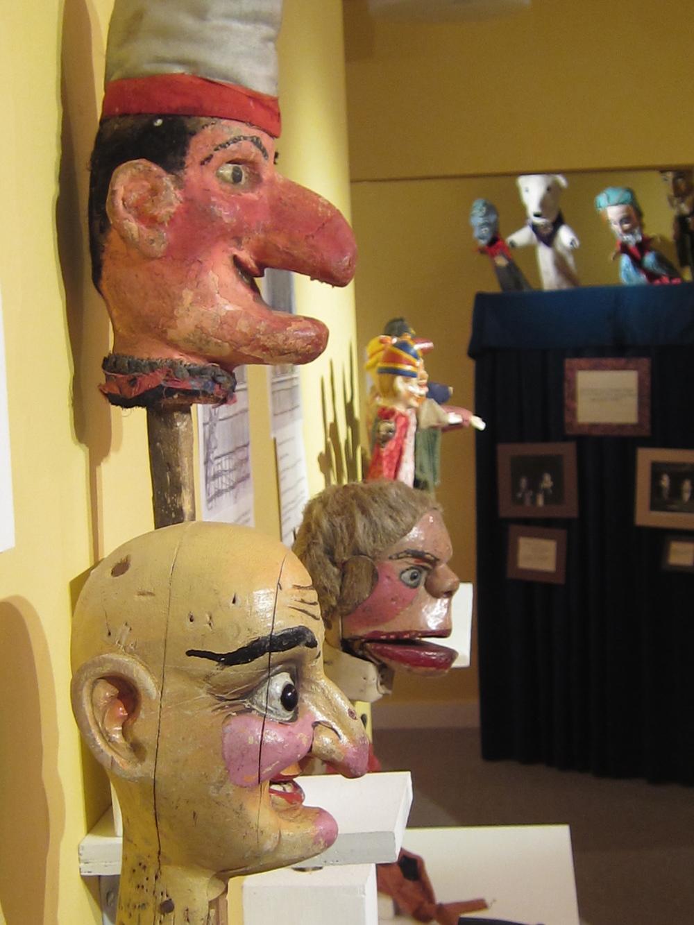 More puppets. The Ballard Puppetry Museum was founded by legendary puppetry teacher Bill Ballard.