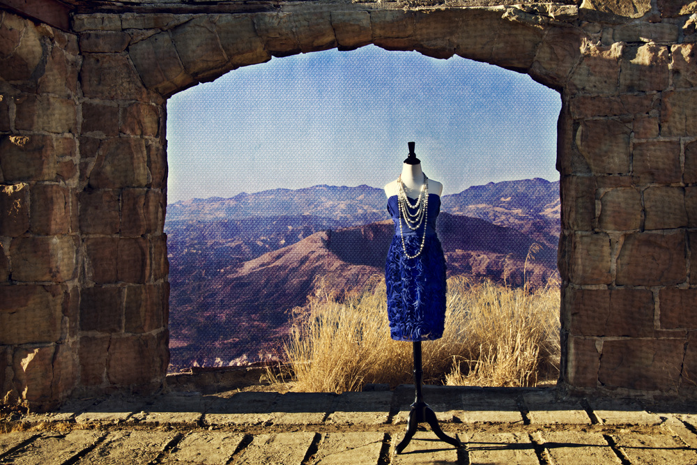 """Memories""  Knapp's Castle which is located in the Las Padres National Forest in Santa Barbara, CA"