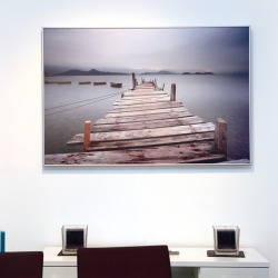 Picture printed infrared heating panel