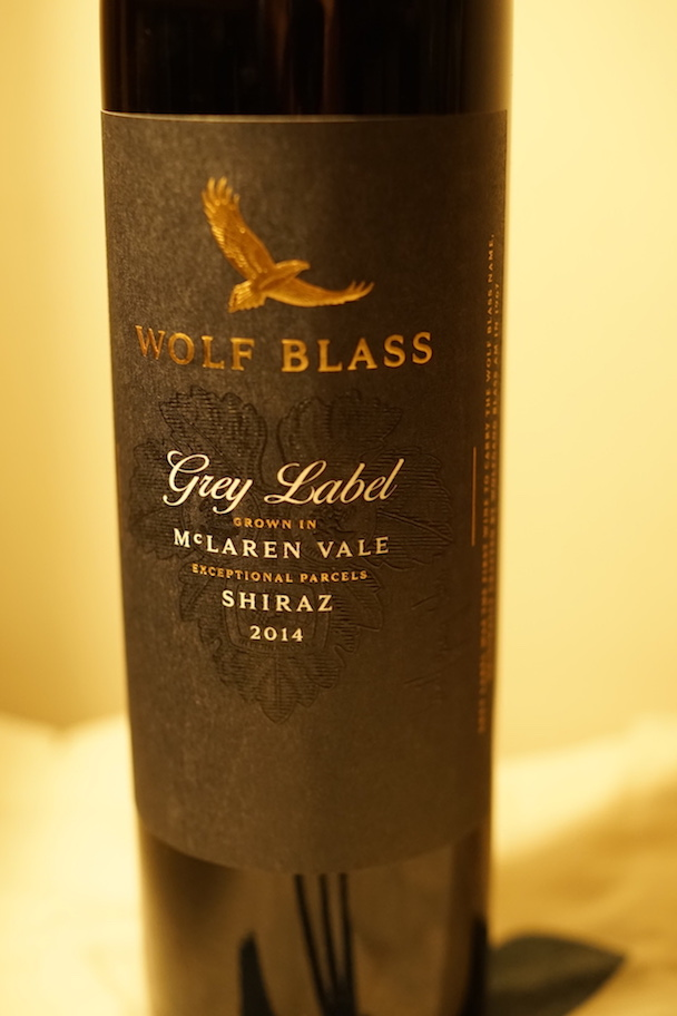Wolf Blass Grey Label Shiraz 2014 pic 3 30th Jan 2018.JPG