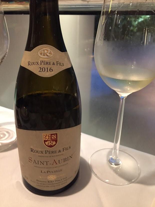 Roux Pere & Fils La Pucelle 2016 酒評 pic 1 11 Sept 2018.JPG