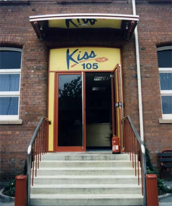 Steps up to Kiss 105
