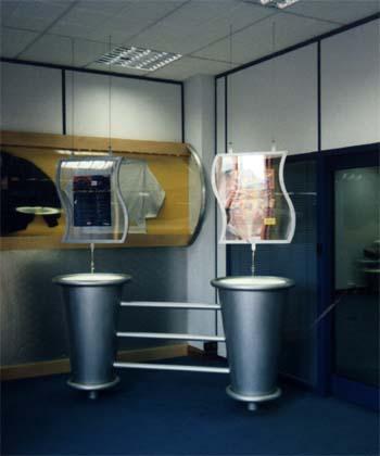 Interior of Kiss 105