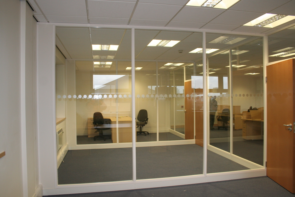 Glass internal walls