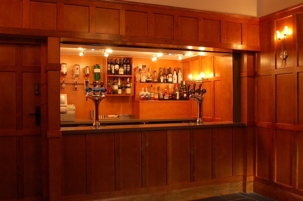 The new bar fitout