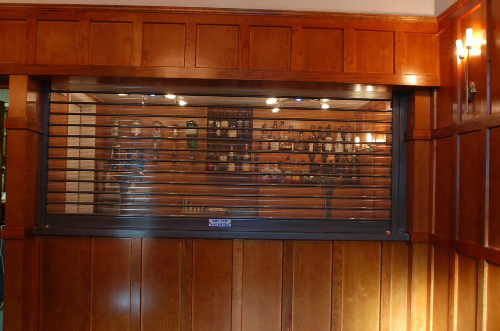 The Bar shutters