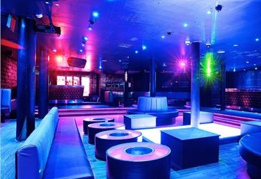 Layout of night club