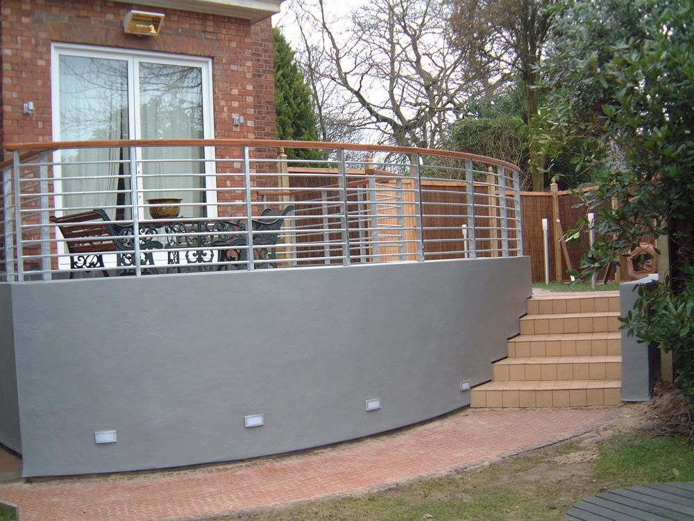 External view of terrace