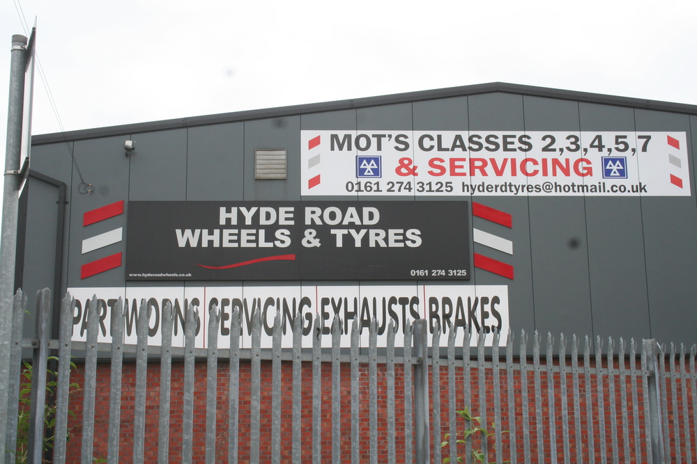 Hyde Road Wheels and Tyres