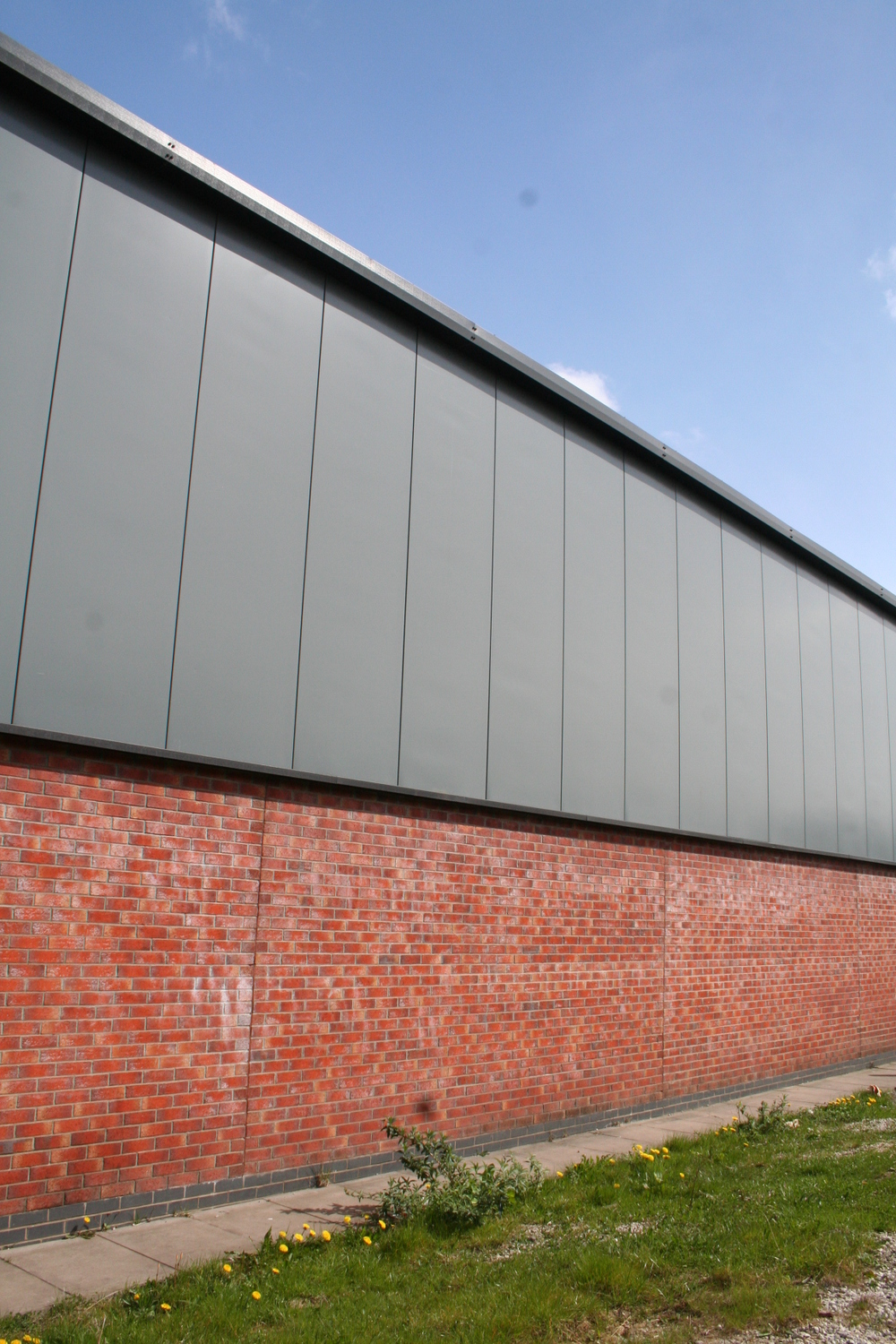 External wall and panelling