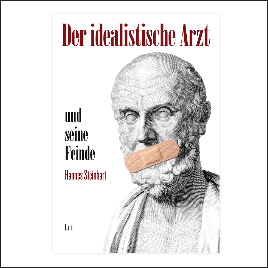 """Vorschlag Buchcover """"Der idealistische Arzt""""- designed by harald"""