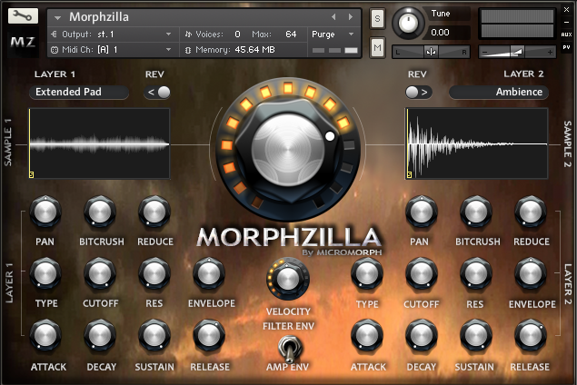 Morphzilla UI