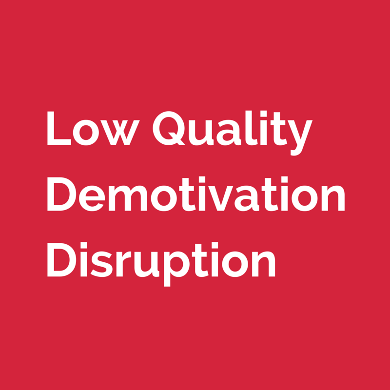 Dangers of having your employees perform translation or interpreting tasks that are not part of job description: low quality, demotivation, disruption