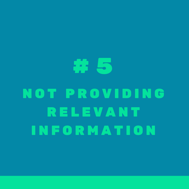 Mistake #5 when targeting international clients in real estate: not providing information international clients are interested in in their native languages